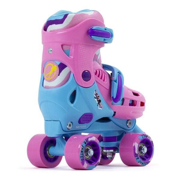 Детские ролики квады SFR Hurricane III pink-blue