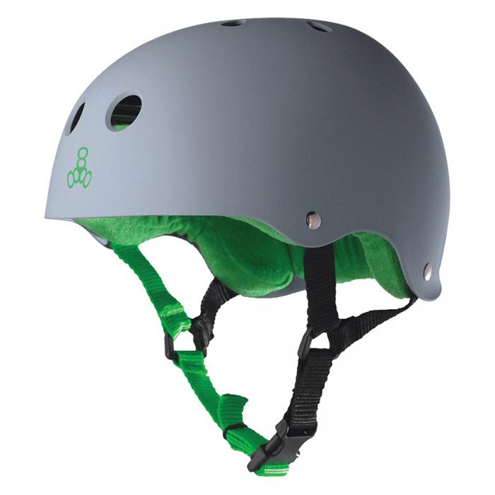 Шлем Triple Eight Brainsaver Rubber Carbon