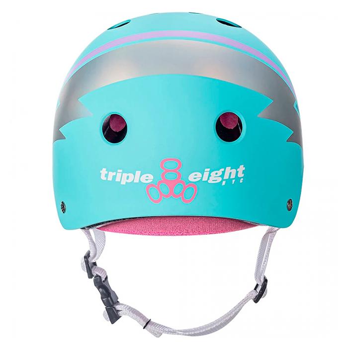 Шлем Triple Eight Teal Hologram