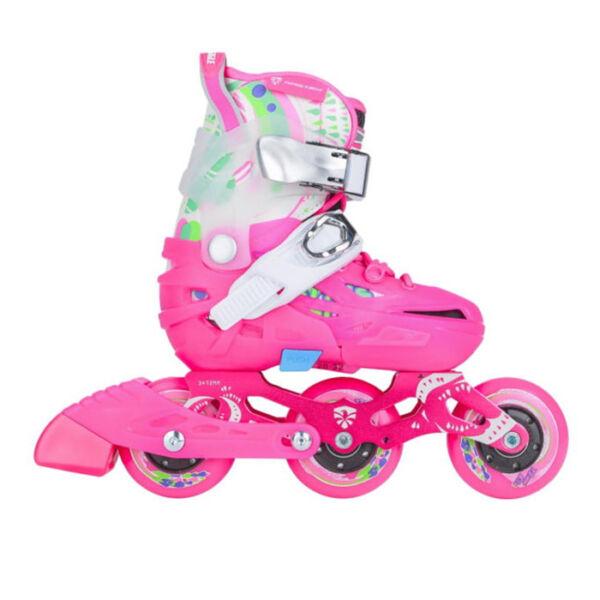 Детские ролики Flying Eagle S6T pink