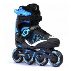 Детские ролики Micro Champion blue-black