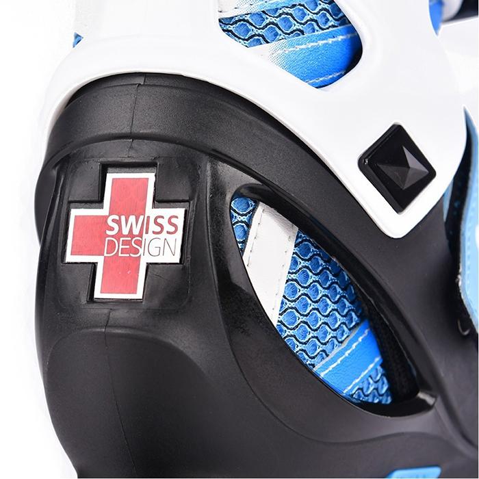 Детские ролики Micro Shaper NEW blue-white