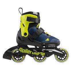 Дитячі ролики Rollerblade Microblade 3WD 2021 Blue/Lime