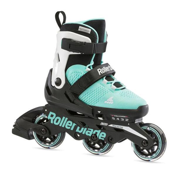 Детские ролики Rollerblade Microblade 3WD G 2021 Aqua/White