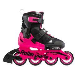 Дитячі ролики Rollerblade Microblade Black/Neon Pink 2021
