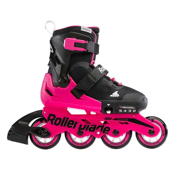 Детские ролики Rollerblade Microblade Black/Neon Pink 2021