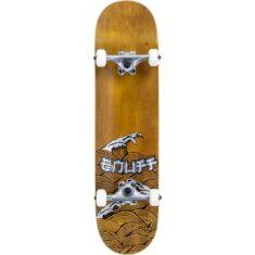 Скейтборд Enuff Big Wave brown-silver