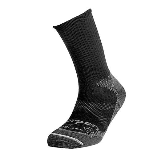 Шкарпетки для роликів Lorpen Coolmax Light Hiker TOTAL Black