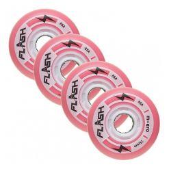 Светящиеся колеса Micro Flash pink