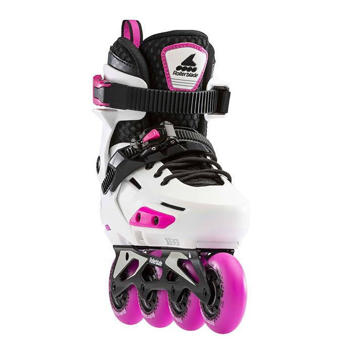 Детские ролики Rollerblade Apex G White/Pink
