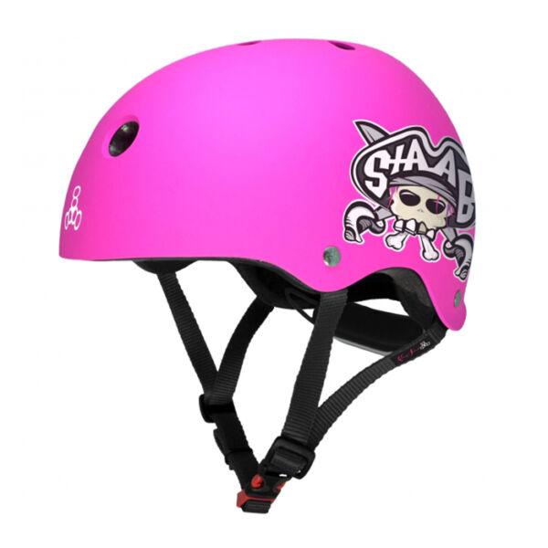 Шлем Triple Eight LIL 8 Staab Ed. Pink
