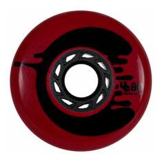 Колеса для роликов UNDERCOVER Cosmic Roche red 80mm/88a