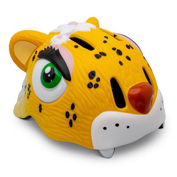 Шлем Crazy Safety Yellow Leopard